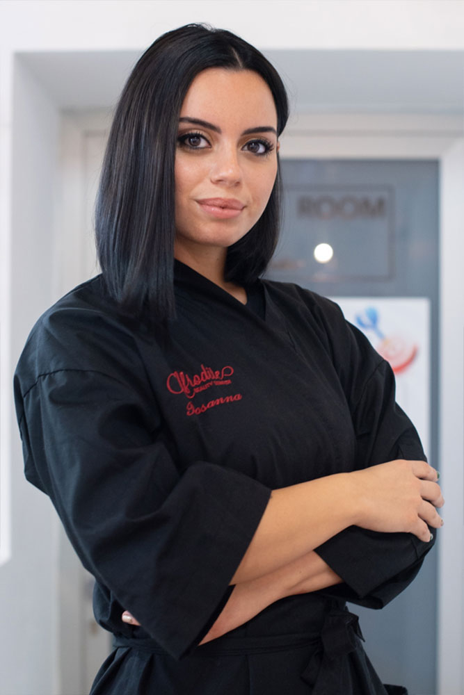 Rosanna Pino di Afrodite Beauty Center