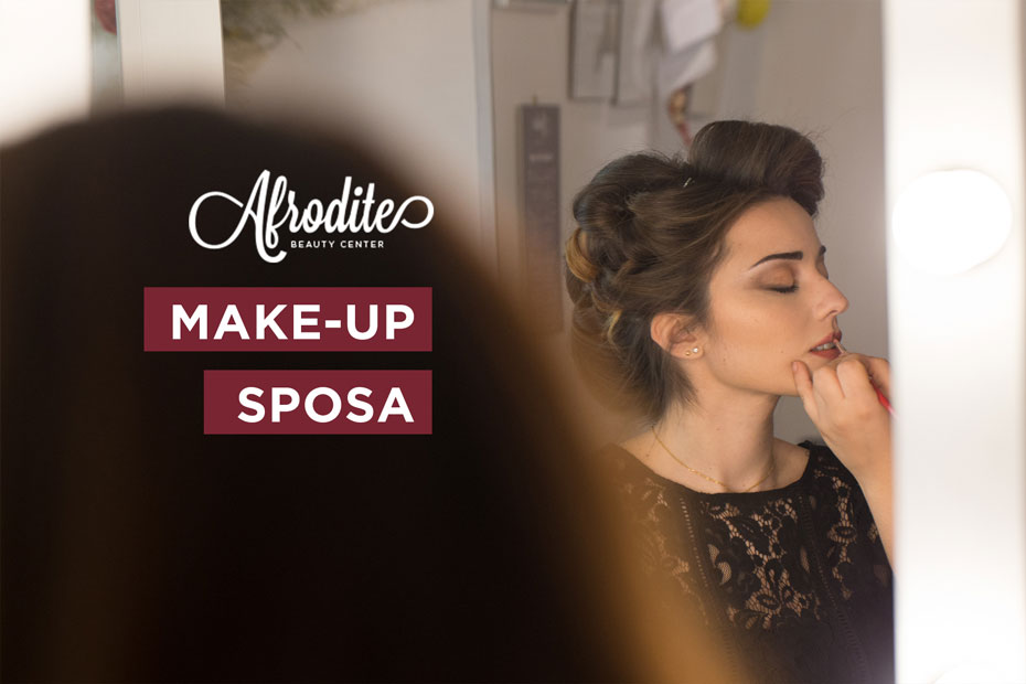 Il make-up per il tuo matrimonio