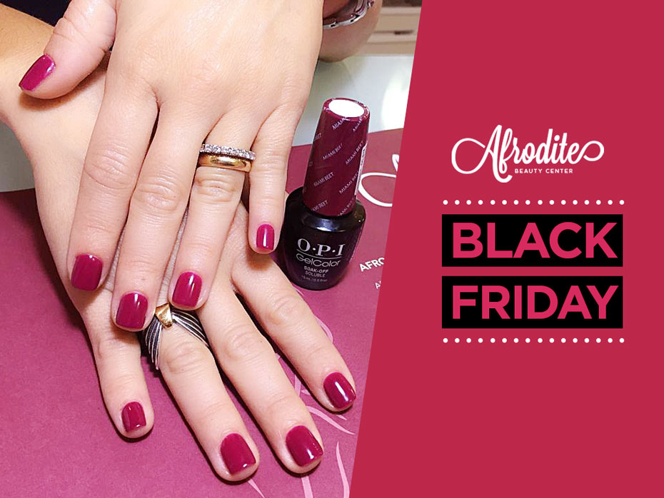Il Black Friday con Afrodite Beauty Center dura tre giorni!