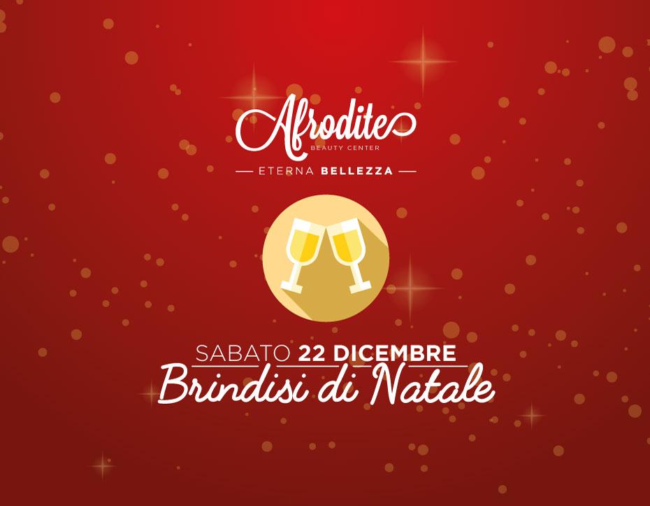 Brindisi di Natale, sabato 22 dicembre!