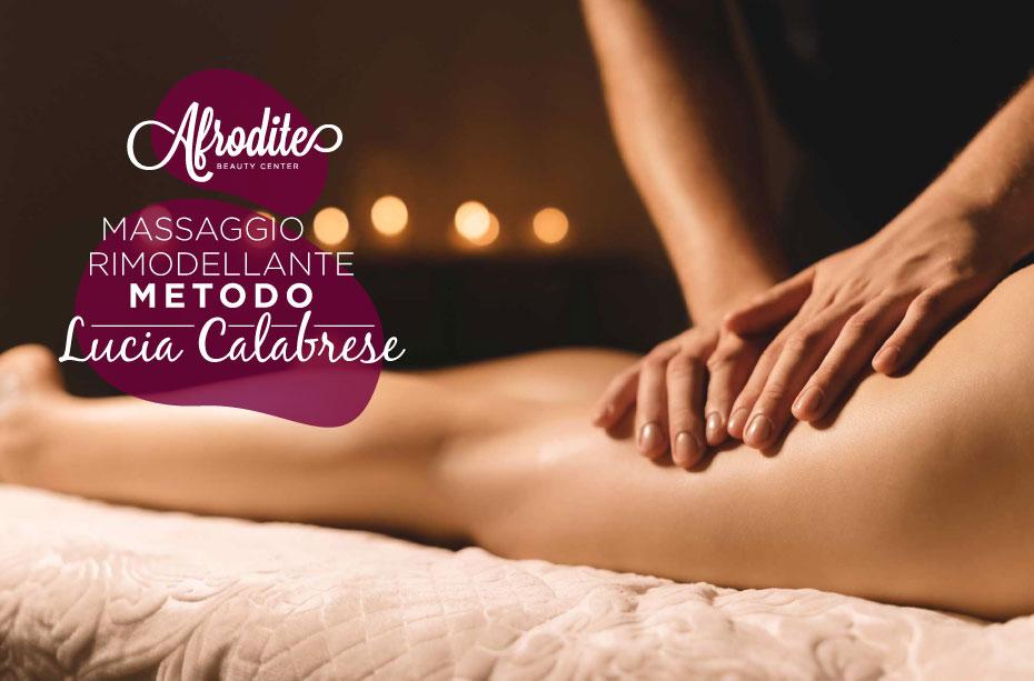Rimettersi in forma con il massaggio rimodellante metodo Lucia Calabrese